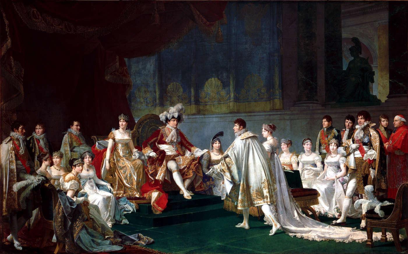 Signature Du Contrat De Mariage Du Prince Jrme Bonaparte