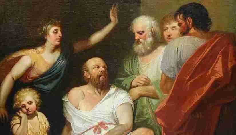 Dipinto olio su tela, Aristotele – Gabriele Gogna