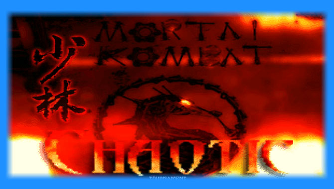 Mortal Kombat Chaotic 2.0 - Mugen