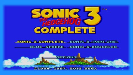 Sonic 3 Complete (MD) - Hack Download | GO GO Free Games