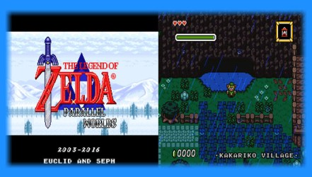 Zelda3 Parallel Worlds (SNES) - Hack Download | GO GO Free Games