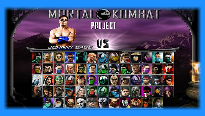 Mortal Kombat Project Season 2.5 - Mugen Download