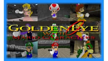 Goldeneye 007 with Mario Characters (N64) - Mod Download