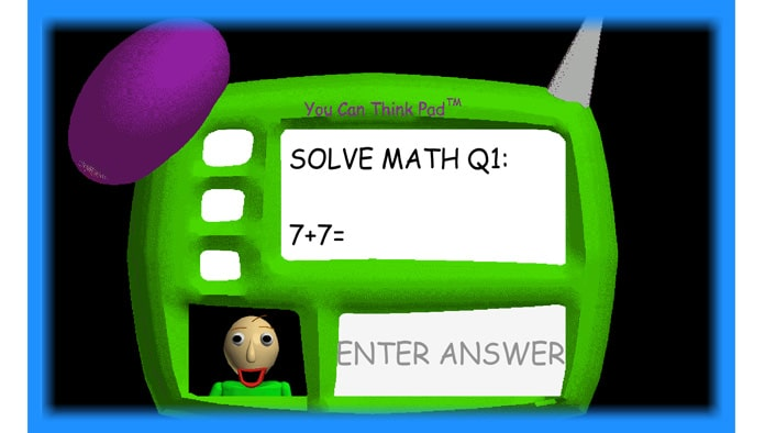 Baldi's Basics in Education and Learning - Game Download