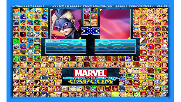 Marvel vs. Capcom vs. SNK - Mugen Download