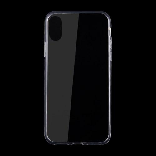 iPhone X Schutzhülle Superslim 0,75mm flexibel