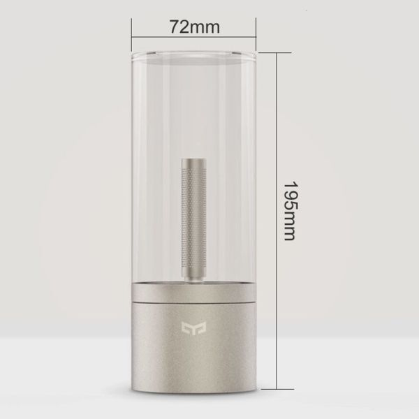 Xiaomi Yeelight Candle Bluetooth Fire Simulation