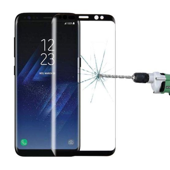 9H Curved Schutzglas für Samsung Galaxy S8+