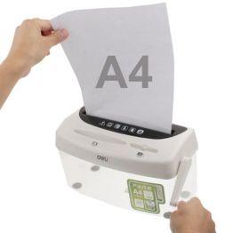 Papierschredder und CD Schredder Handbedienung
