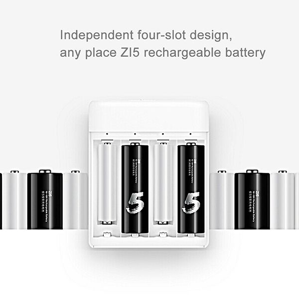 Original Xiaomi ZMI AA_AAA Ni-MH Battery Charger