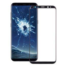 Samsung Galaxy S9 Front Screen Glas Linse (schwarz)