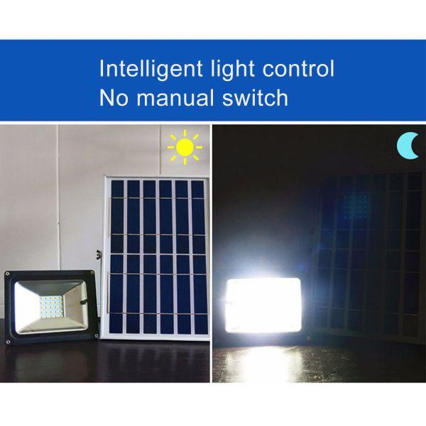 10W IP65 Waterproof Solar Power Flood Light