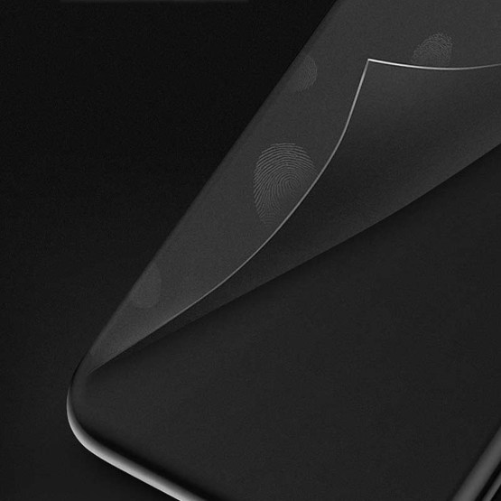 Frosted TPU Case for iPhone XS Max 6.5 black