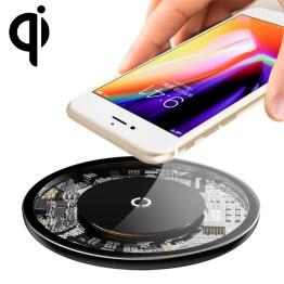 Baseus Qi Wireless Charger Alu + Glass 10W