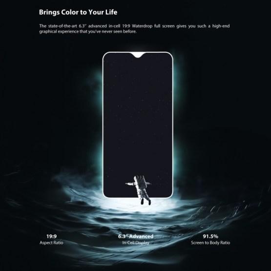 UMIDIGI One Max 4GB+128GB Global Band Dual 4G