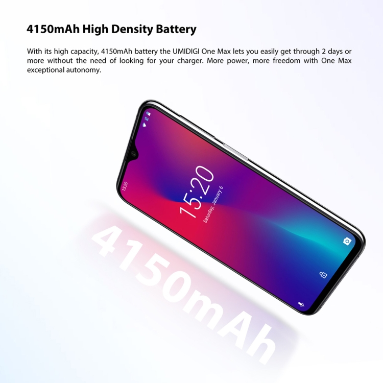 UMIDIGI One Max 4GB+128GB Global Band Dual 4G
