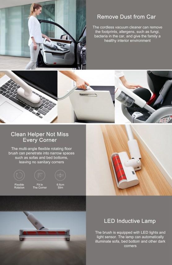 Xiaomi Roidmi F8 Smart Vacuum Cleaner