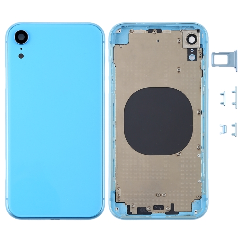 iPhone XR Rückseite blue