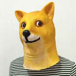 Doge Meme Mask