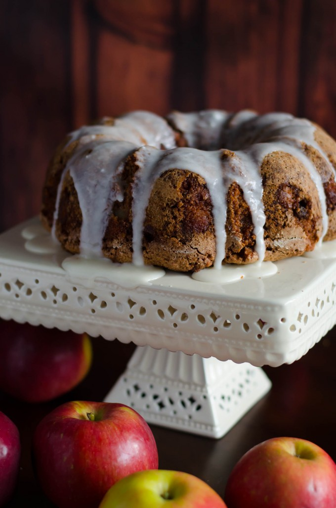 Apple Walnut Cake Go Go Go Gourmet