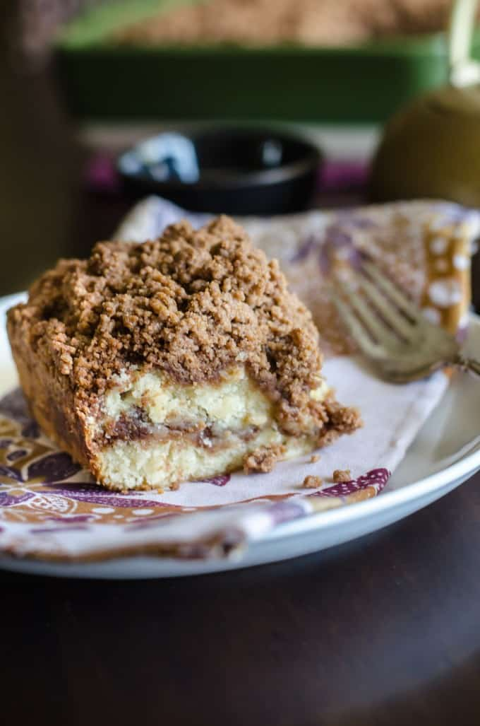 Cinnamon Coffee Cake With Streusel Crumb Topping Go Go