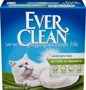 Ever Clean 藍鑽 強效清香結塊貓砂 25lb磅 (綠帶)