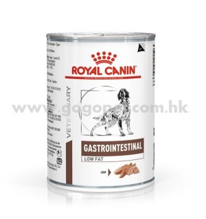 Royal Canin - Gastro Intestinal Low Fat 犬隻低脂易消化處方濕糧 410g 行貨