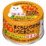 CIAO 吞拿魚雞肉+鵪鶉蛋 貓罐頭