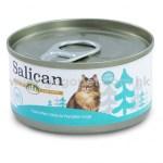 Salican森林罐 -純白肉吞拿魚南瓜湯貓罐頭 - 85g (青藍) 主食罐