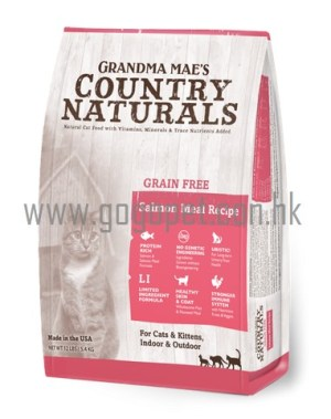 country naturals 貓糧 Country Naturals 低敏無穀物三文魚精簡配方 全貓糧