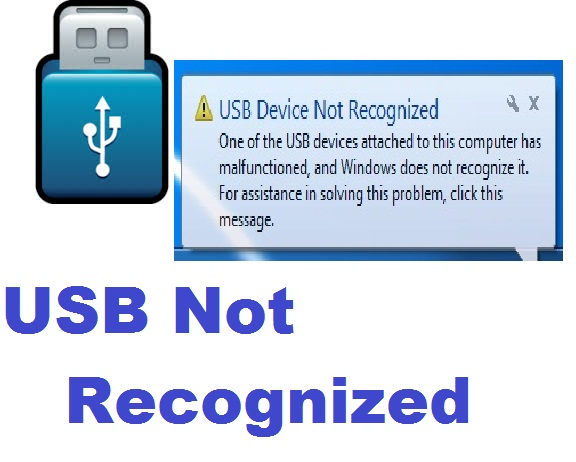Fix USB Device Not Recognized
