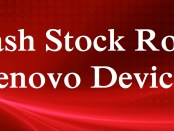 Flash Stock Rom Lenovo