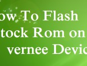 Flash Stock Rom on Vernee