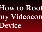 Root my Videocon