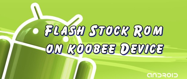 Flash Stock Rom on Koobee