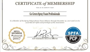 SPFA Certificate