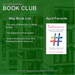 Go Grow Money Monthly Book Club – May Book Lineup