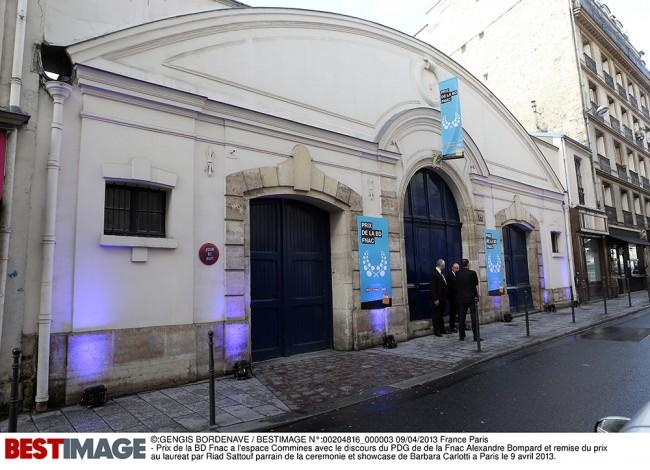Prix de la BD Fance a l'espace Commines a Paris