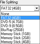 mkv2vob file splitting
