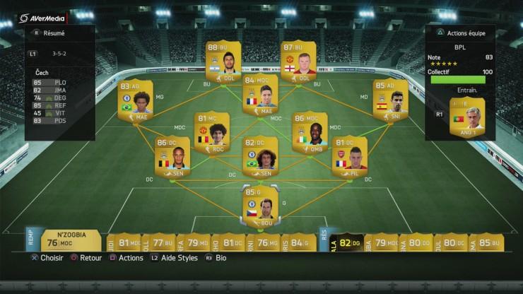Equipe BPL Parfaite FIFA FUT