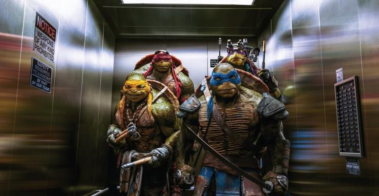 bluray turtles ninja