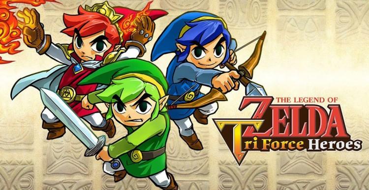 Avis Zelda Tri force heroes