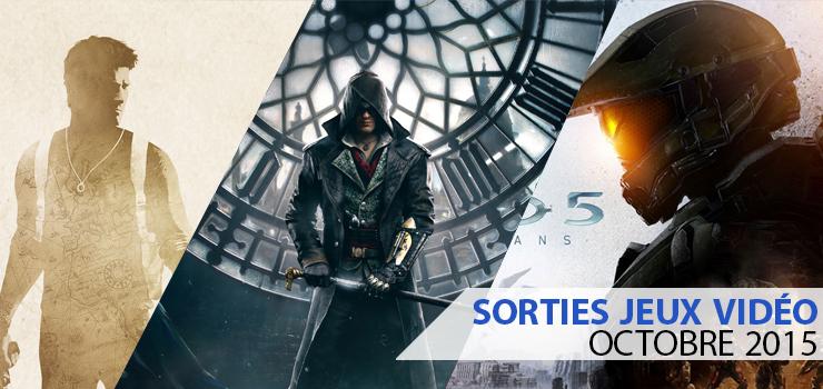 sorties jeux video octobre 2015