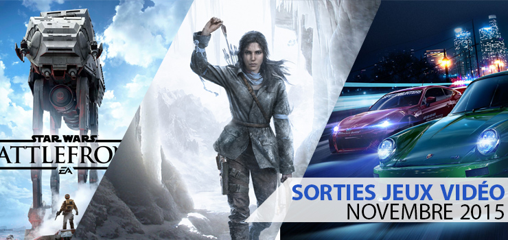 sorties jeux video novembre 2015