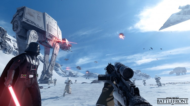 star wars battlefront avis podcast gohanblog