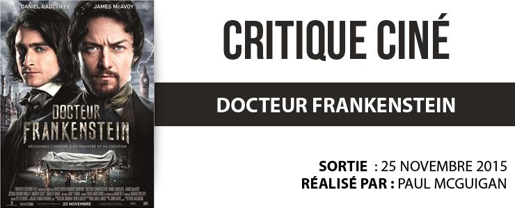 critique cine docteur frankenstein