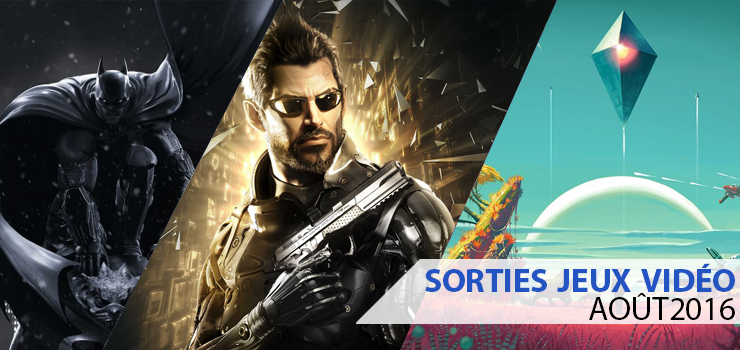 sorties jeux video aout 2016