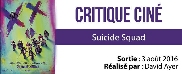 critique cine Suicide Squad