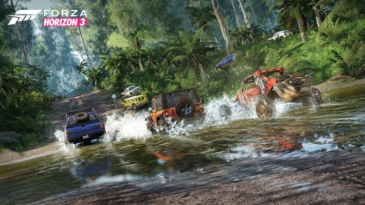 Forza Horizon 3 Crossing Stream