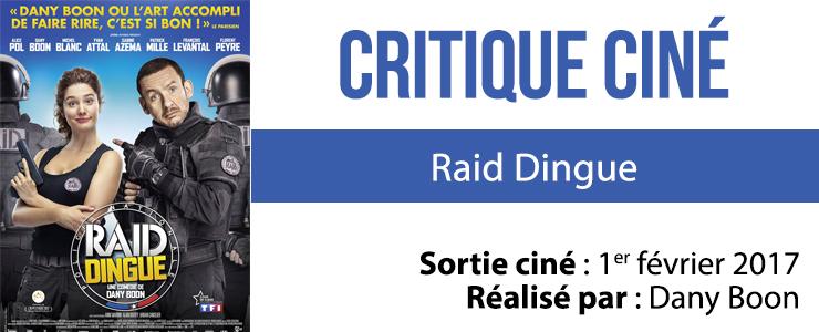 critique ciné raid dingue
